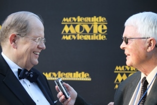 Dan Wooding interviewing Ted Baehr use