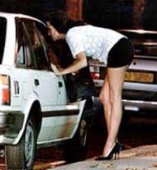 Prostitute working the street Brian Nixon