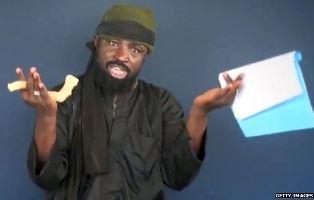 Boko Haram leader speaking