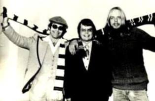 Elton John Dan Wooding and Rick Wakeman