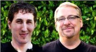 Matthew and Rick Warren