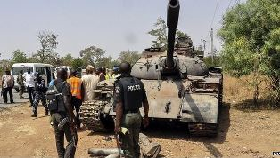 Nigerian forces trying to contain Boko Haram