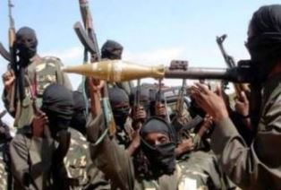 Boko Haram fighters for