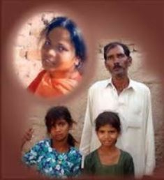 Asia Bibi hushand and two daughters