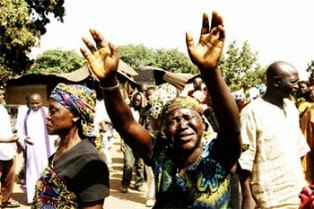 Christian raises arms after Fulani killings