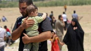 Fighting has forced many to flee Ramadi Iraq use
