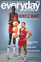 Manute Bol on cover of Everyday Matters magazine