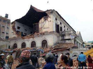 Shocking scene of devasatioon Christian Aid Mission
