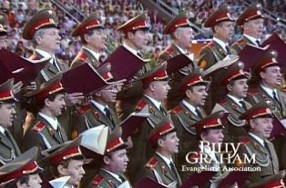 The Red Army Choir use