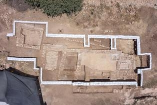 Credit: Skyview Company, courtesy of the Israel Antiquities Authority