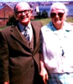 Alf and Anne Wooding in Wallasey