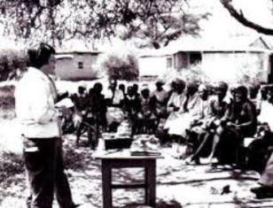Dan Wooding speaking in Kenya
