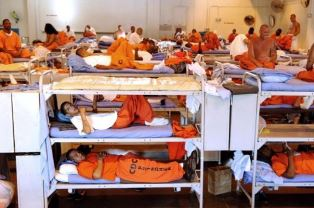 Overcrowded prison Brother Ned