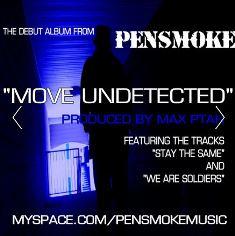 Pensmoke album cover Jim Uttley