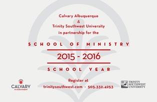 CalvarySchoolofMinistry