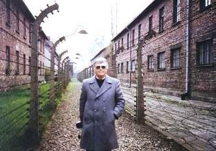 Dan at Auschwitz