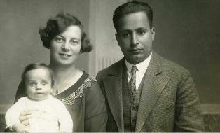 John Fieldsend parents Charles Gardner