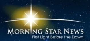 Morning Star News logo