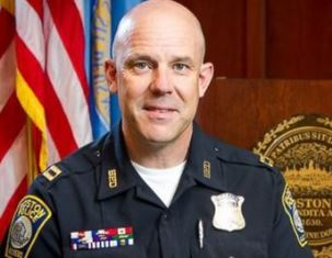 Police caption Mark Ellis