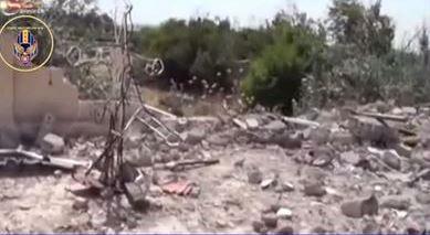 Syrian Church destroyed