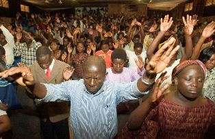 Ugandan Christian in worship Morning Star News