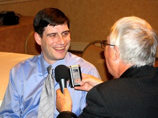 Will Graham being interviewed at NRB 2011 by Dan Wooding