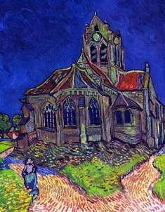 t VanGogh TheChurchofAuvers