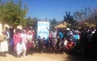 An excited group of Orality Trainees