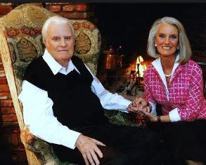 Billy Graham with Anne Graham Lotz