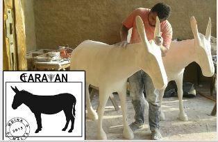Caravan donkey Peter Wooding use