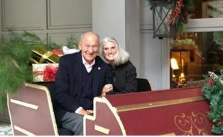Danny and Ann Graham Lotz at their home Main Image