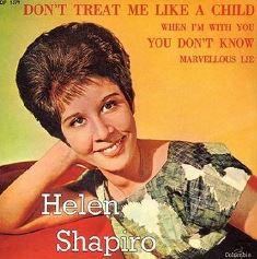 Helen Shapiro record cover Chaz Gardner