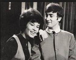 Helen Shapiro with John Lennon Chaz Gardner