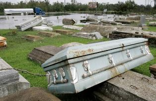 The Hollywood Cemetery after Huricane Ike September 2008