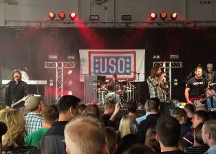 Thrid Day during USO tour in 2014