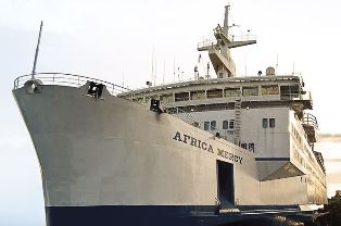African Mercy ship