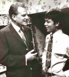 Billy Graham with Cliff Richard