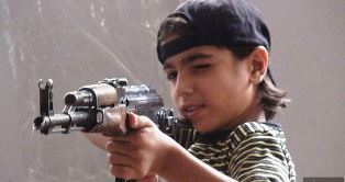Child soldier with Islamic State