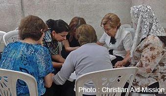 Christians in Allepo