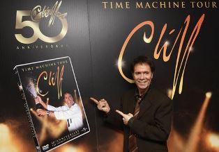Cliff Richard promoting a tour