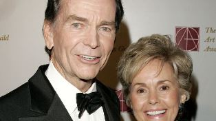 Dean Jones and his wife Lory