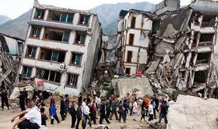 Earthquake damage in Nepal
