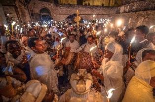 Ethiopian Easter in Jerusalem Aviram Valdman