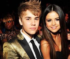 Justin with Selena Mark Ellis