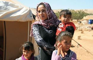 Syrian refugees Christian Aid Mission