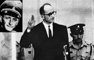 Adoph Eichmann during his trial