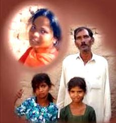 Asia Bibi and family