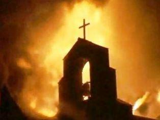 Tanzanian church torched Jeremy Reynalds