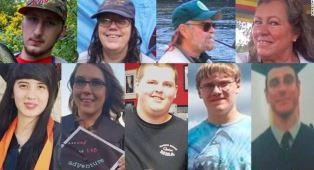 The nine victims of the Oregon shooter