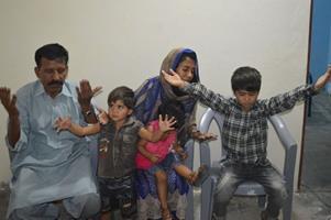 Children of Shama Mukhtar Masih